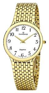 Reloj Candino C4363/1 de cuarzo para hombre, correa de acero inoxidable color dorado de Candino
