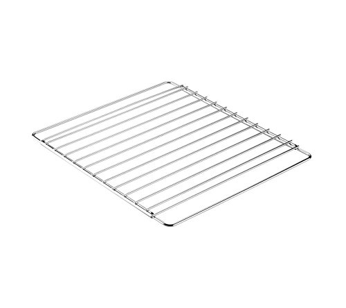 Invero® Universal Stainless Steel Adjustable Extendable Oven Cooker Rack Grill Cooking Tray Shelf - Adjusts from 39cm to 56cm Suitable for most Ovens