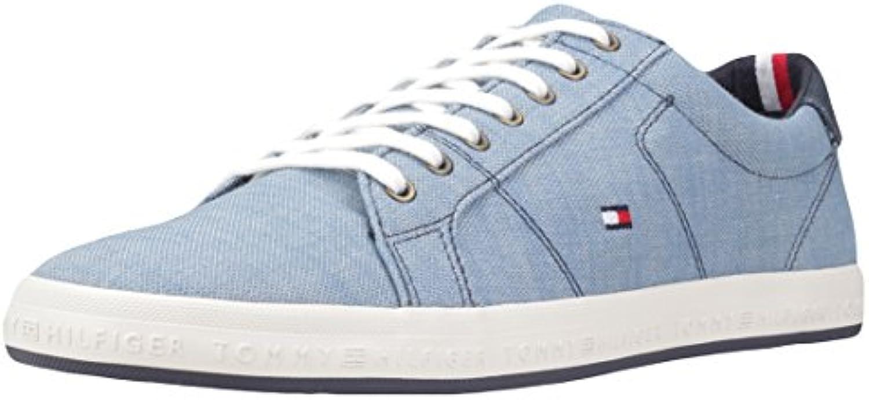 Tommy Hilfiger FM0FM01378 Zapatos Hombre Azul 41  -
