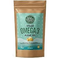 Veganes Omega 3 - Algenöl - 90 Kapseln (250mg DHA/Kapsel)