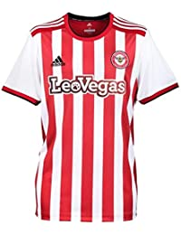 Adidas 2018-2019 Brentford Home Football Soccer T-Shirt Camiseta