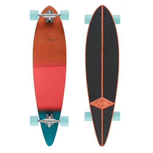 Osprey Unisex Pintail Longboard-mehrere Styles Einheitsgröße Wood Grad