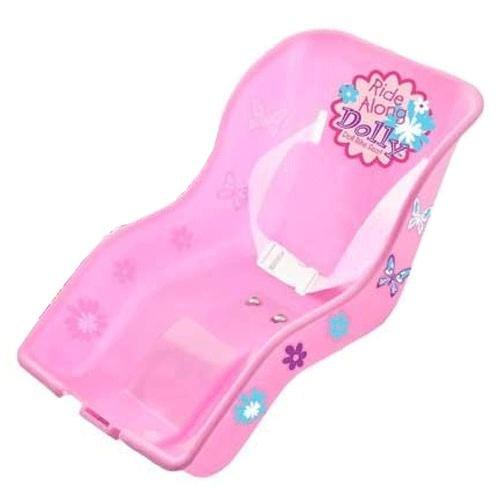 "Ride Along Dolly Doll Bicycle Seat ""Ride Along Dolly"" Bike Seat with Decorate Yourself Decals (Fits American Girl a"