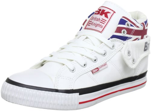 British Knights ROCO UNION JACK B30-3798, Sneaker unisex adulto, Bianco (Weiß (white multi 1)), 42