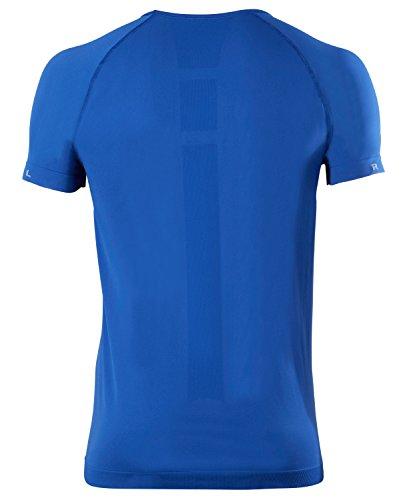 FALKE Herren Warm Shortsleeve Shirt Comfort Unterwäsche athletic blue