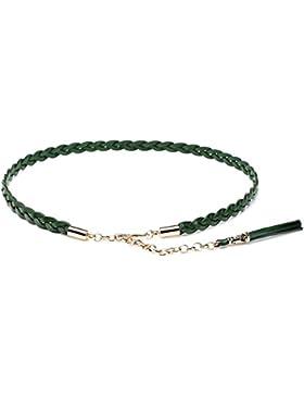 Señoras Armadura Cinturón,Simple Salvaje Elegante Hueco De Bien Cinturón Distribución Falda Cinturón