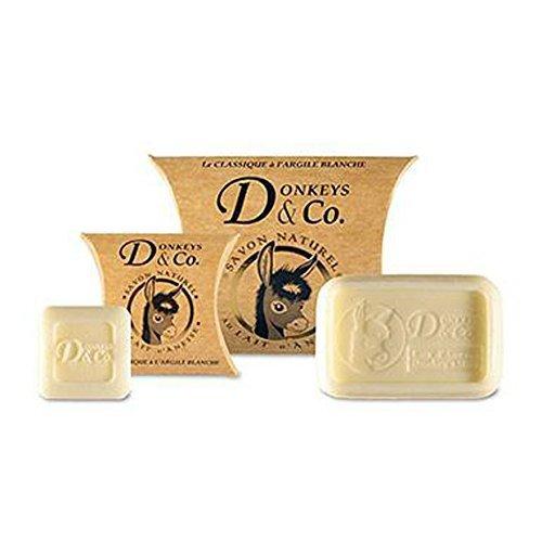 Donkeys-Jabón leche burra Arcilla blanca 100gr