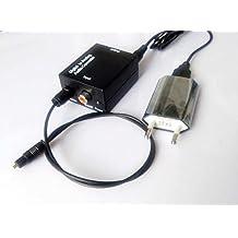 easyday SK.N Digital Toslink Optical coaxial a analógico RCA Audio Converter Convertidor fibra