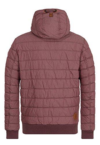 Naketano Male Jacket Prometheus Aubergini