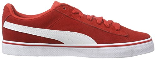Puma Puma 1948 Vulc, Unisex-Erwachsene Sneakers Rot (high risk red-white 03)