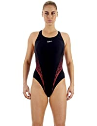Speedo Damen Badeanzug i2 Turbocharge Placement Recordbreaker