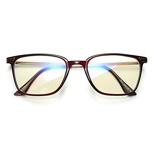 LKHJ Sonnenbrillen Blaues Licht, Das Gläser Blockiert, Führte Lesebrille Strahlungsresistente Brille Computerspielbrille Brillengestell Eyewear