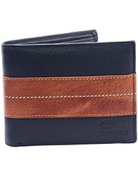 Z & C Techno Bros Men's Leather Wallets_Black