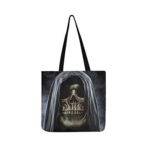 hädel Canvas Tote Handtasche Schultertasche Crossbody Taschen Geldbörsen für Männer und Frauen Einkaufstasche ()