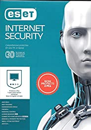 ESET INTERNET SECURITY 2020 - 2 USERS FOR 1 YEAR AUTHENTIC MIDDLE EAST VERSION