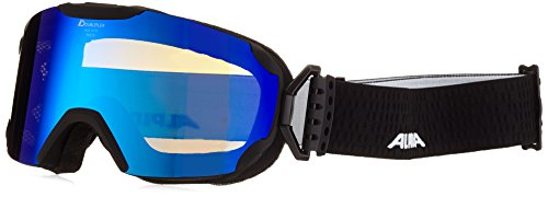 ALPINA Pheos MM Skibrille, Black Matt, One Size