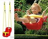 Babysitz für Schaukel Winnetoo Spielsystem, rot-gelb - Kinderspielgeräte für Garten, Spielgeräte für Kinder, Spielturm, Spieltürme