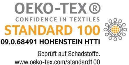 Ravensberger NATURA LUX 100% NATUR-Latex Topper Matratzen Auflage LATEXCO Latex RG 75 - 6