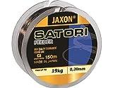 Jaxon Angelschnur Satori Feeder 150m / 0,16-0,35mm Spule Monofil Schnur (0,20mm / 9kg)
