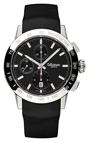 ALTANUS GENEVE Master Sport Automatik Chronograph Uhr Swiss-Made