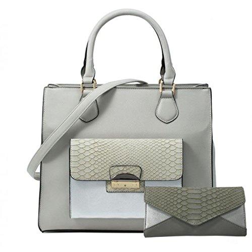 ladies-new-faux-leather-snake-skin-shaded-hangbag-purse-wallet-shoulder-bag-matching-set