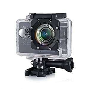 hamswan f60 waterproof action camera carcorder wifi. Black Bedroom Furniture Sets. Home Design Ideas