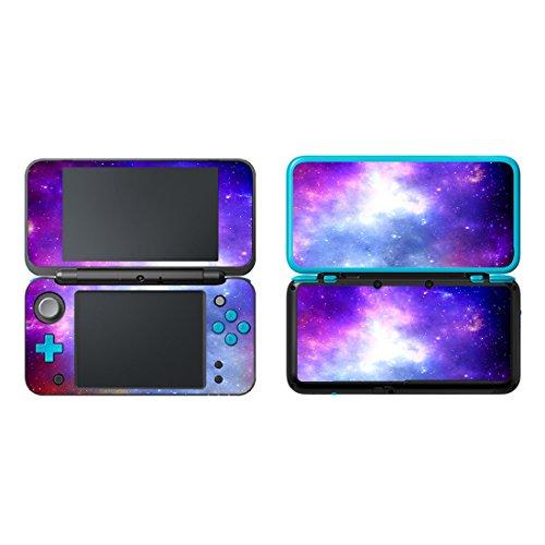 uushop Vinyl Schützende Haut Aufkleber Cover Wrap für Neue Nintendo 2DS XL/LL Galaxy Nebel 09 -