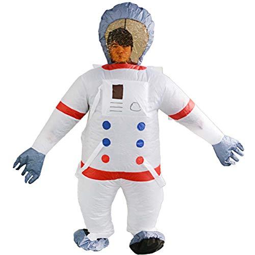 GaLon Aufblasbare Kleidung Erwachsene Raum Astronaut Dress Up Cosplay Aufblasbare Anzug Lustige Rave Party Maskerade Puppe Zeigen Requisiten
