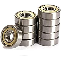Sirius&Co Deep Groove Ball Bearing Double Shield Bearing Steel Bearings For 3D Printer or Robotics or DIY Projects…