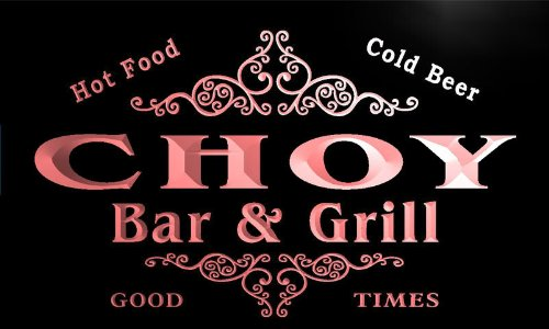 u08042-r-choy-family-name-bar-grill-cold-beer-neon-light-sign-enseigne-lumineuse
