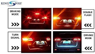 Kingsway kkmtrled00001 Boot Light Strip for All Cars (White)