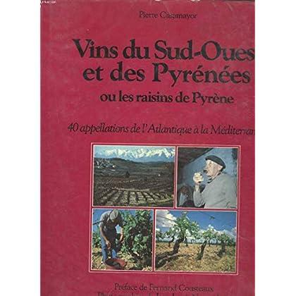 Les vins du Sud-Ouest et des Pyrénées
