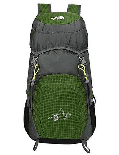 HWB/ 36-55 L Tourenrucksäcke/Rucksack / Compression-Pack / Rucksack Camping & Wandern / Klettern / Legere Sport / Reisen / RadsportDraußen / rose red