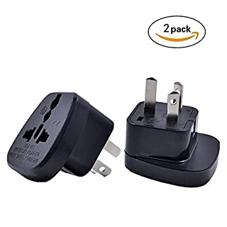 UK To Australia Adaptor,Works Throughout Australia New Zealand ,UK to Australia Adapter,a Good Helper For Travel and Work(Pack of 2)