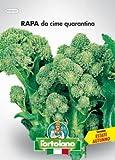 Sementi orticole di qualità l'ortolano in busta termosaldata (160 varietà) (RAPA DA CIME QUARANTINA)
