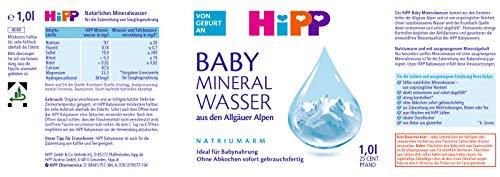 Hipp Baby-Mineralwasser, 6er Pack (6 x 1 l)