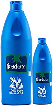 Parachute Coconut Oil 600 ml with 100 ml Free