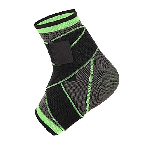 Nicedeal 3D-Weber-Bandage, elastisch, Nylon, Knöchelstütze, für Badminton, Basketball, Fußball, Taekwondo, Fitness-Fersenschutz, Sportausrüstung, wie Knieschützer, etc.
