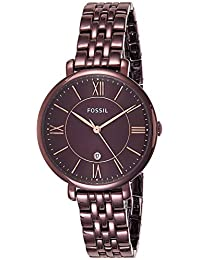 Fossil Jacqueline Analog Brown Dial Women's Watch-ES4100