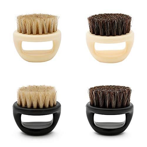 EgBert Soft cinghiale pelliccia uomini rasatura pennello barbiere salone pulizia del viso rasatura strumento rasoio pennello