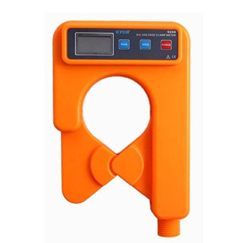 Multímetro Amperimetrica Digital, Tester: AC 2kV / rms (tra core e shell) Canna isolante: AC 100kV / rms (5 sezioni isolante asta tutti i collegamenti, tra le due estremità) Struttura Anti-gocciolamen