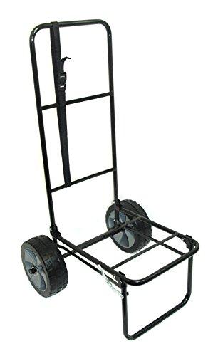 Bison - Carro de pesca plegable con neumáticos a prueba de pinchazos (25,4 cm)