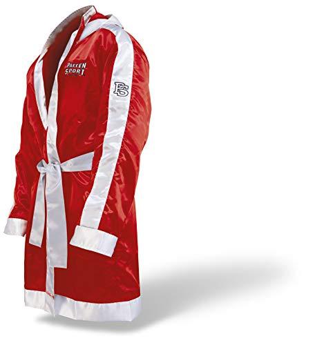 Paffen Sport Boxermantel mit Kapuze – rot/weiß – Größe: M