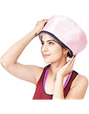 QERINKLE® Hair Care Thermal Head Hair Spa Cap Treatment with Beauty Steamer Nourishing Heating