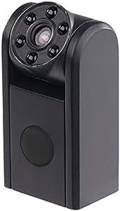 Somikon Spionagekamera: Mini-HD-Überwachungskamera, IR-Nachtsicht, PIR-Sensor, 1 Jahr Stand-by (Raum-Überwachungskamera)