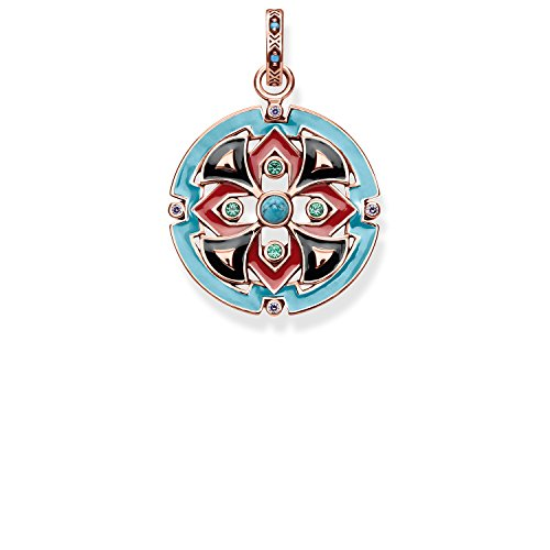 Thomas Sabo Damen-Anhänger asiatische Ornamente Glam & Soul 925 Sterling Silber PE787-388-7 -