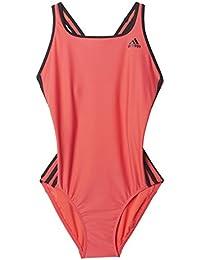 dc9dc45912fdb adidas Infinitex Maillot de bain une pièce Femme - Rouge (Shock Red  S16 Black