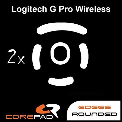 Corepad Skatez Pro 147 Pieds de Souris de Remplacement Compatible avec Logitech G Pro Wireless GPW