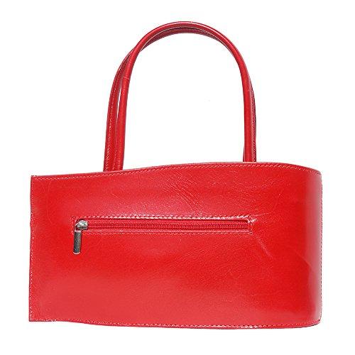 "Mini Handtasche ""NANO"" aus Kalbsleder 206 Rot"