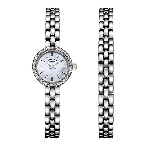 Rotary LB00017-BRS-07S Reloj de Damas